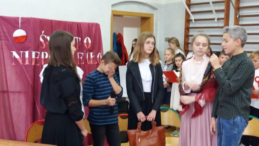 Akademia z okazji 101. rocznicy odzyskania przez Polskę niepodległości